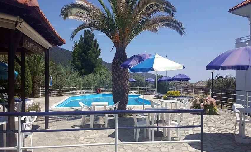Hotel ACHILLION smestaj na tasosu grcka hoteli letovanje bazen