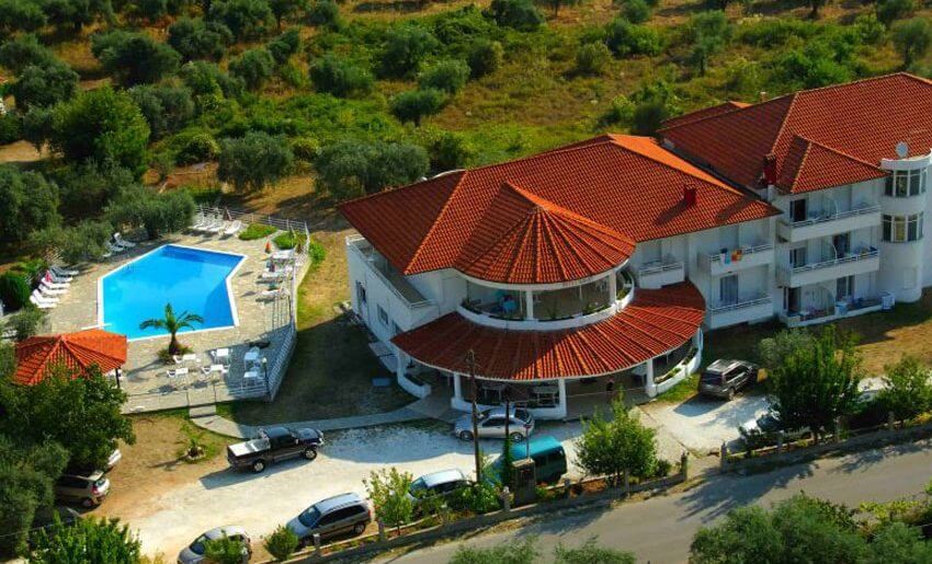 Hotel ACHILLION smestaj na tasosu grcka hoteli letovanje