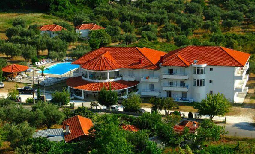 Hotel ACHILLION smestaj na tasosu grcka hoteli