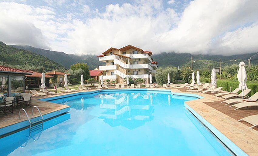 Hotel Korina tasos grcka hoteli bazen