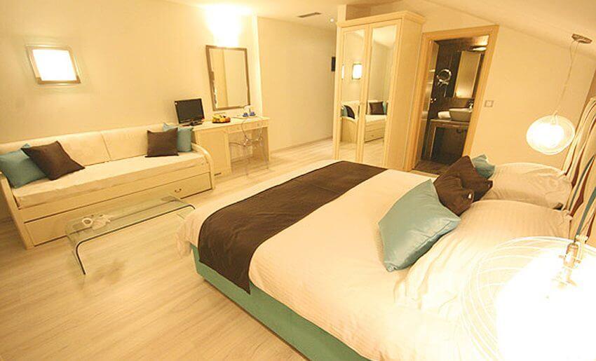Hotel Korina tasos grcka hoteli dvokrevetna soba