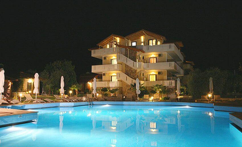 Hotel Korina tasos grcka leto apartmani