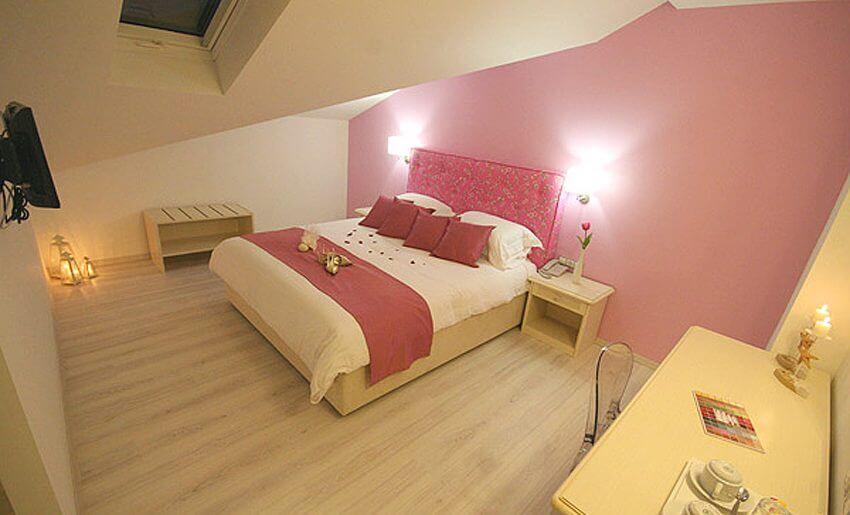 Hotel Korina tasos grcka letovanje dvokrevetna soba