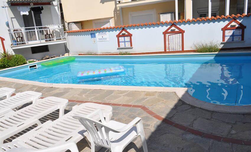 Hotel Philoxenia Inn smestaj na tasosu grcka bazen