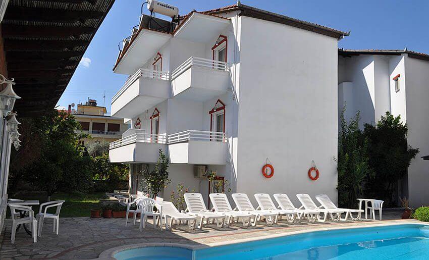 Hotel Philoxenia Inn smestaj na tasosu grcka hoteli bazen