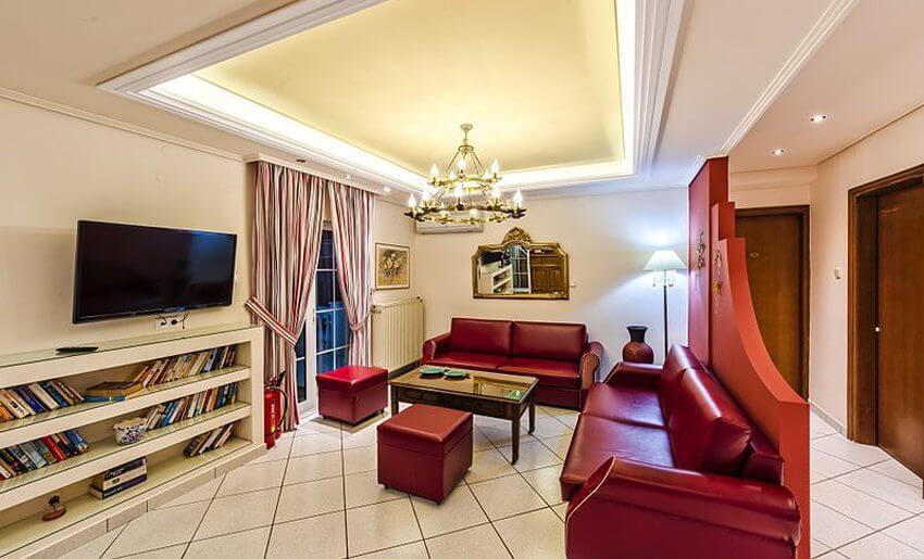 Hotel Philoxenia Inn smestaj na tasosu grcka hoteli lobi