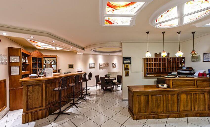 Hotel Philoxenia Inn smestaj na tasosu grcka hoteli recepcija