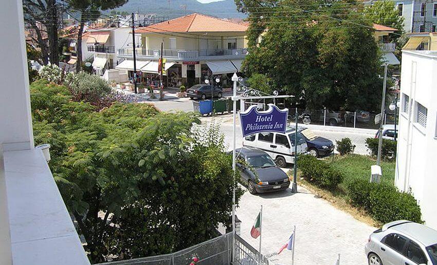 Hotel Philoxenia Inn smestaj na tasosu grcka okolina