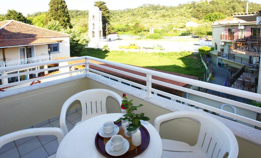 Hotel Philoxenia Inn smestaj na tasosu grcka terasa