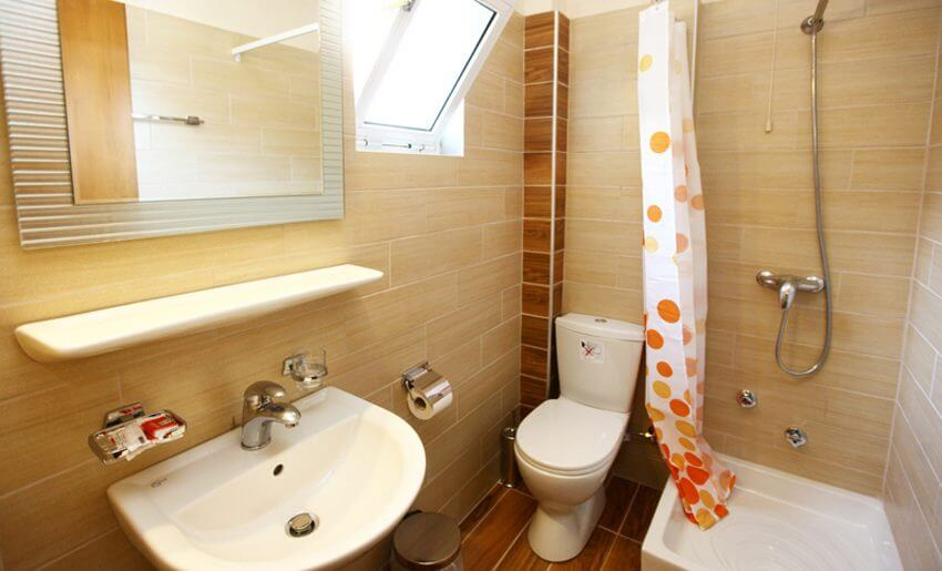 Hotel Philoxenia Inn smestaj na tasosu kupatilo