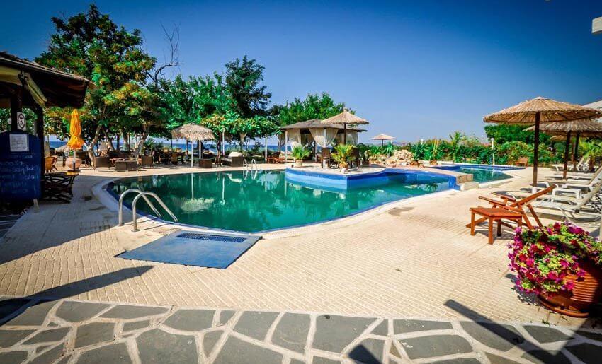 hotel anna star tasos letovanje u grckoj bazen