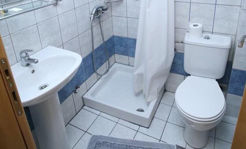 hotel possidon tasos smestaj na tasosu grcka kupatilo