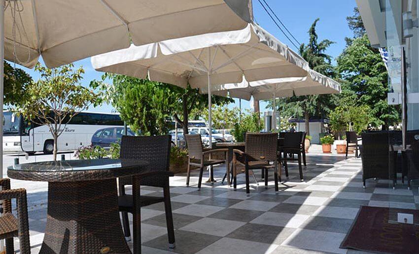 hotel possidon tasos smestaj na tasosu grcka terasa