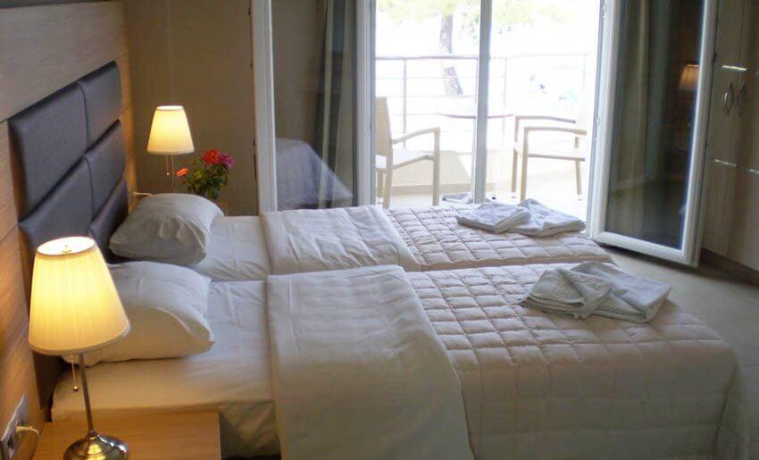 hotel rachoni smestaj na tasosu grcka soba