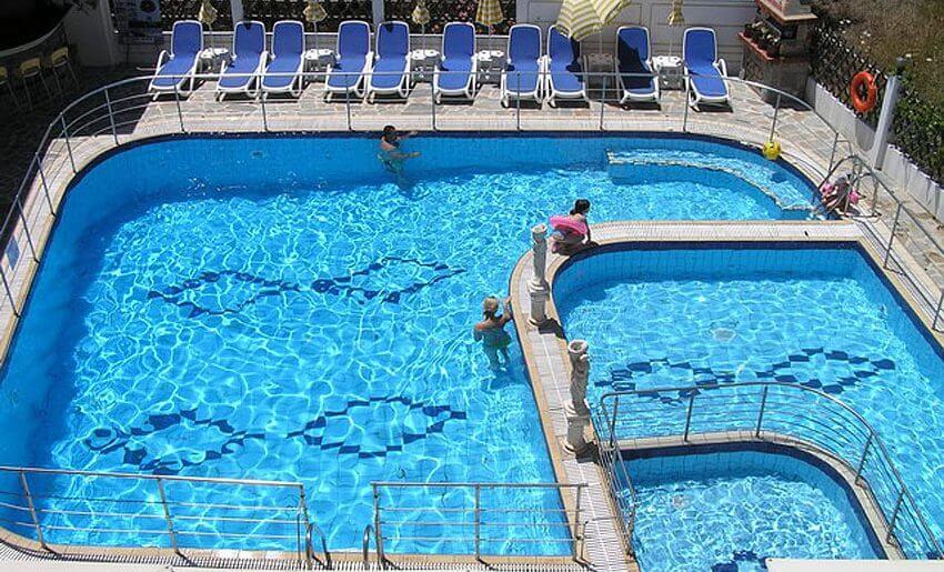 hotel sirines smestaj na tasosu bazen