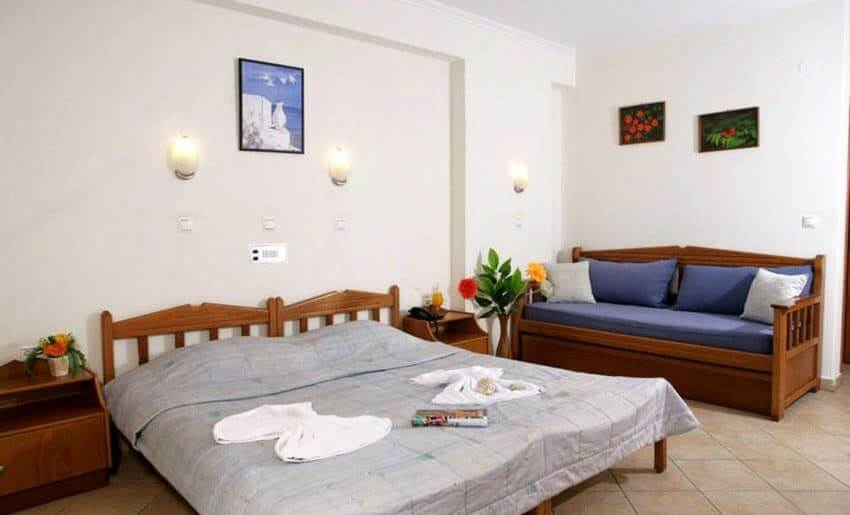 hotel sirines smestaj na tasosu soba
