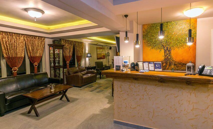 hotel thalassies limenarija grcka hoteli recepcija
