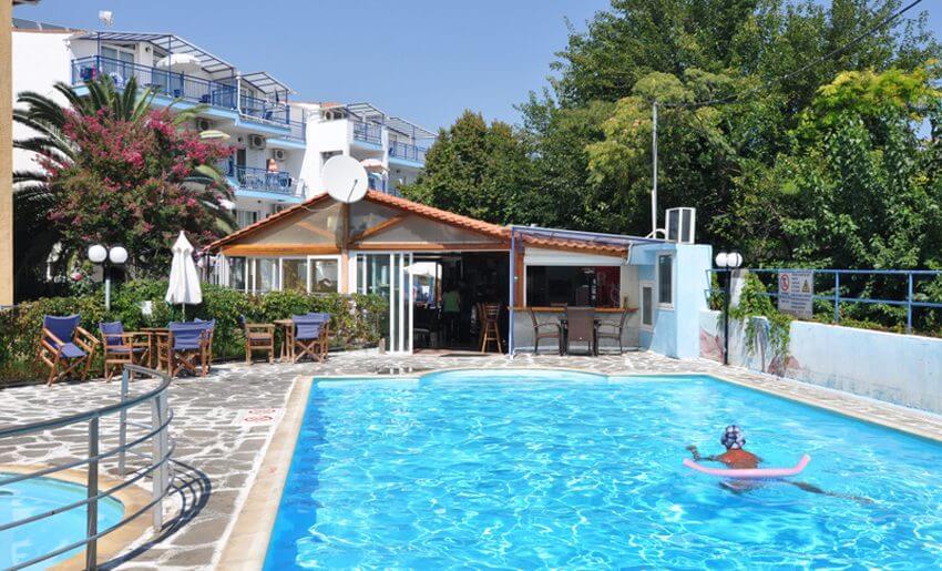 smestaj na tasosu apartmani maria bazen grcka leto