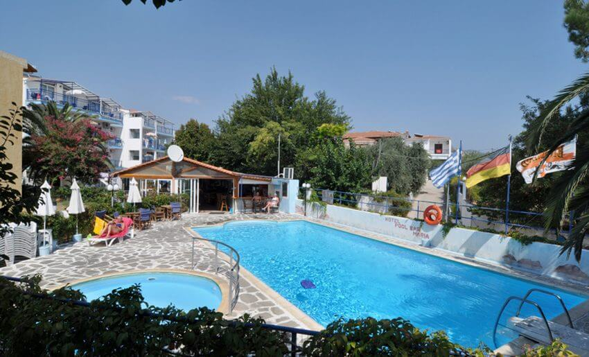 smestaj na tasosu apartmani maria bazen grcka letovanje