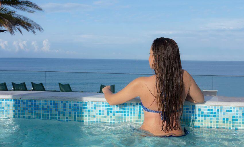ALEXANDRA BEACH SPA HOTEL tasos grcka bazen