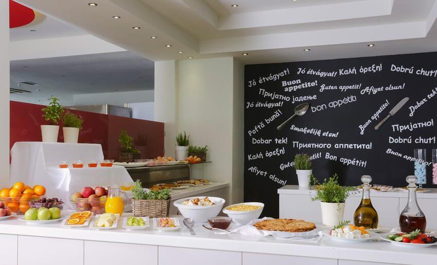 ALEXANDRA BEACH SPA HOTEL tasos grcka dorucak