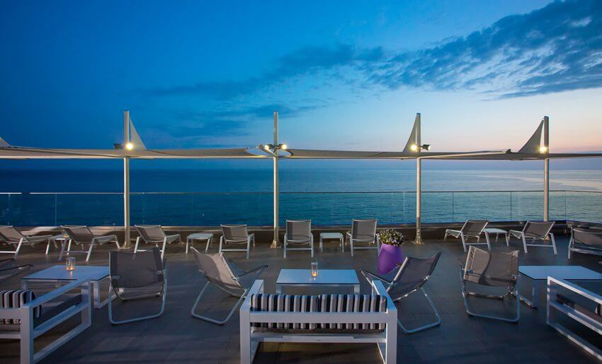 ALEXANDRA BEACH SPA HOTEL tasos smestaj grcka bazen sumrak