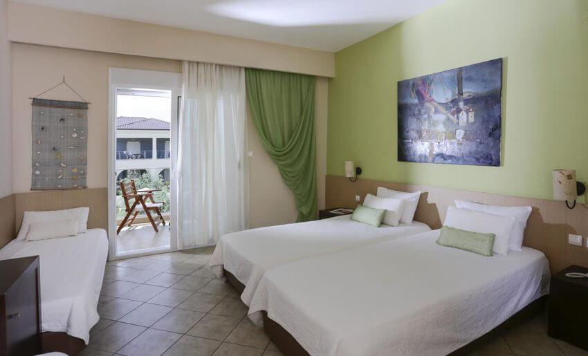 ALEXANDRA BEACH SPA HOTEL tasos smestaj grcka standardna soba