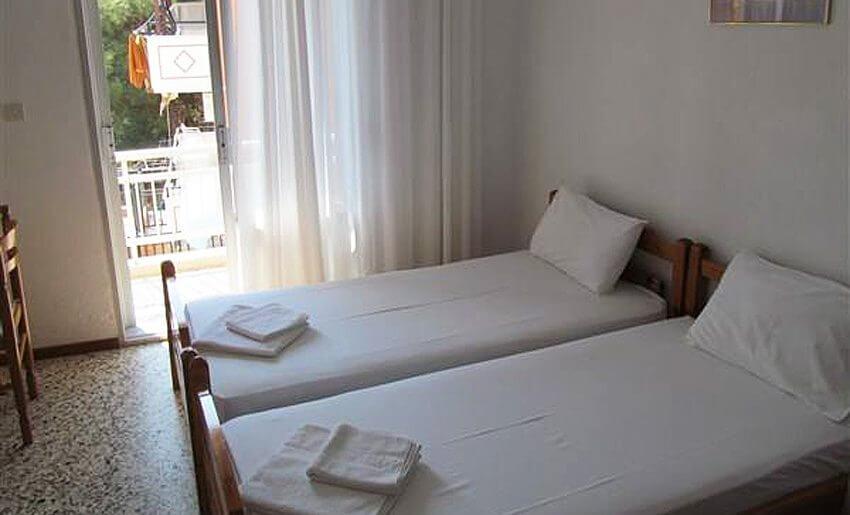 Ana Vila Tasos grcka apartmani letovanje dvokrevetna soba