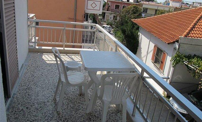 Ana Vila Tasos grcka apartmani letovanje terasa