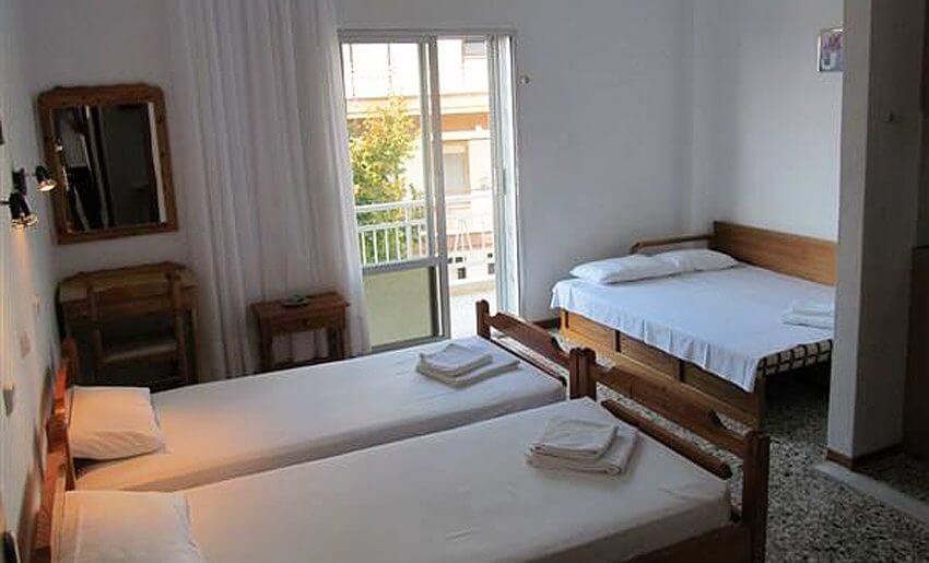 Ana Vila Tasos grcka apartmani letovanje trokrevetni stufio