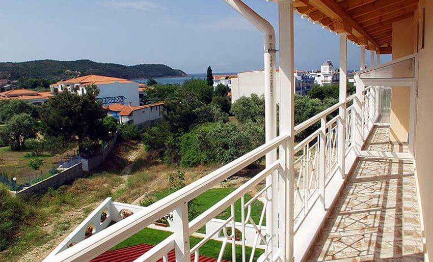 Apartmani Joanna Tasos smestaj grcka letovanje terasa