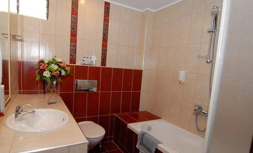 Astris Notos Hotel apartmani tasos grcka kupatilo