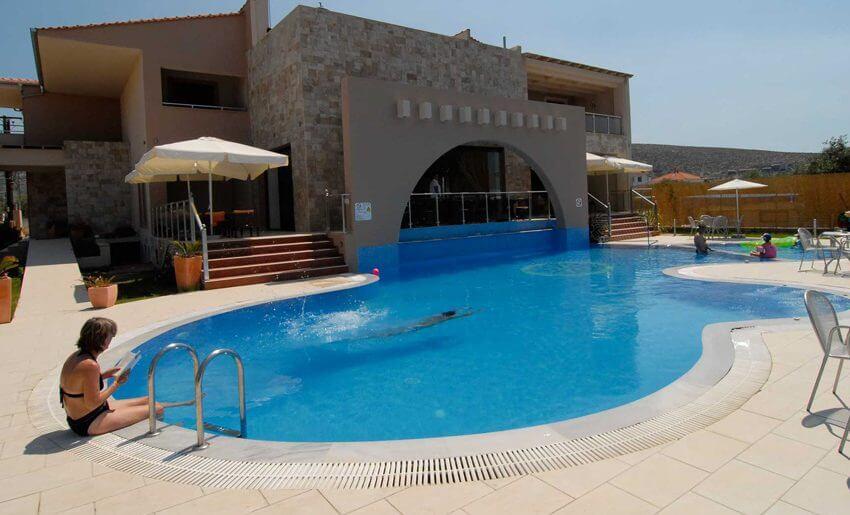 Astris Notos Hotel letovanje apartmani grcka bazen