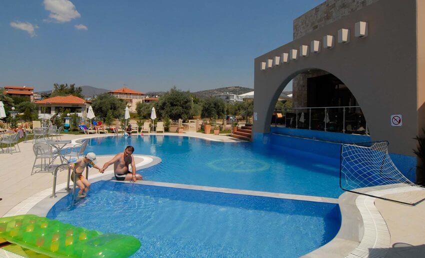 Astris Notos Hotel tasos letovanje apartmani decji bazen