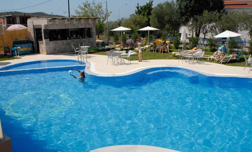 Astris Notos Hotel tasos letovanje bazen grcka apartmani