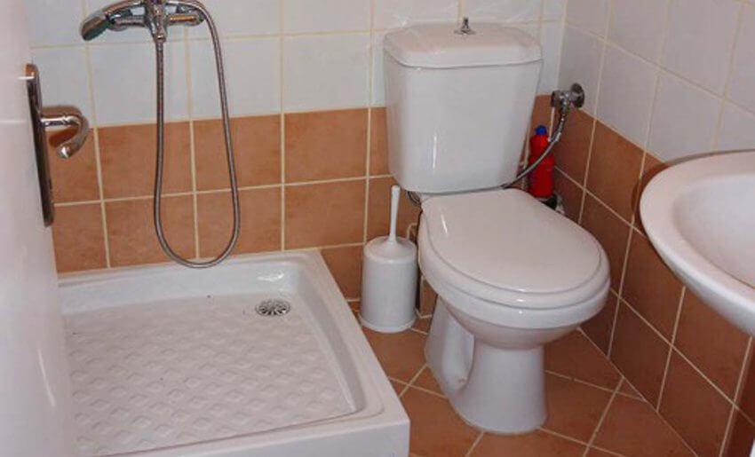 Dimitris 2 Vila Tasos grcka letovanje kupatilo