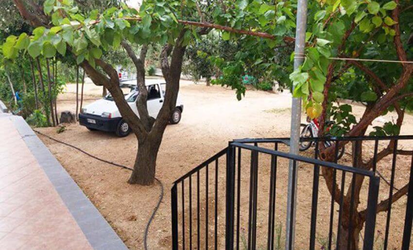 Dimitris 2 Vila Tasos grcka letovanje parking