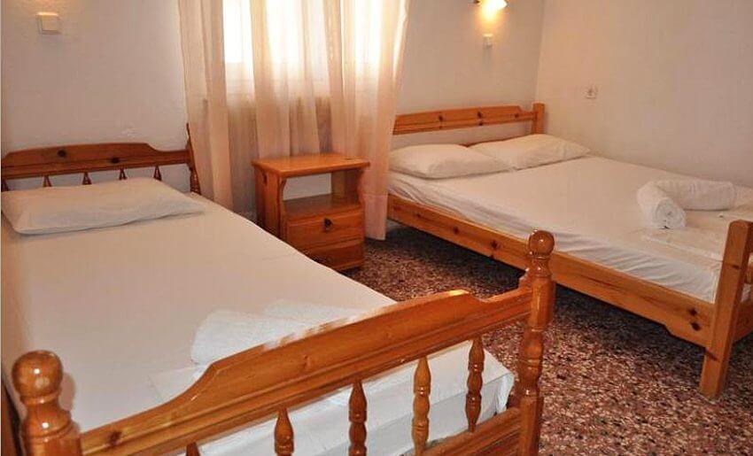 Dina Vila Tasos grcka letovanje apartmani dvokrevetna soba