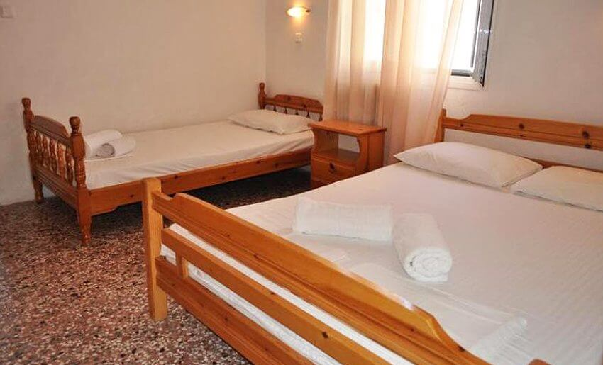 Dina Vila Tasos grcka letovanje apartmani trokrevetna soba