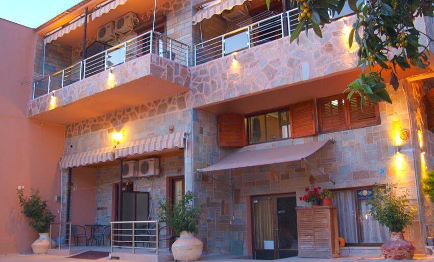 Edelweiss Studios grcka apartmani letovanje vila
