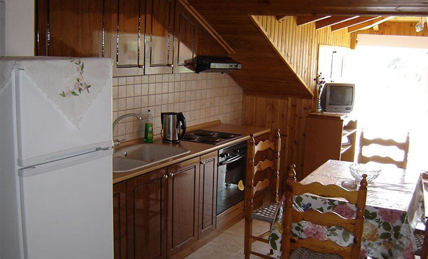 Effis Garden Apartmani grcka letovanje kuhinja