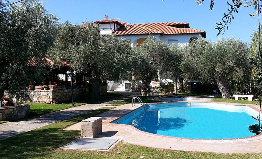 Effis Garden Apartmani tasos grcka letovanje bazen