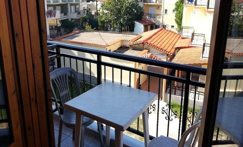 Eirini Vila Tasos grcka apartmani letovanje terasa