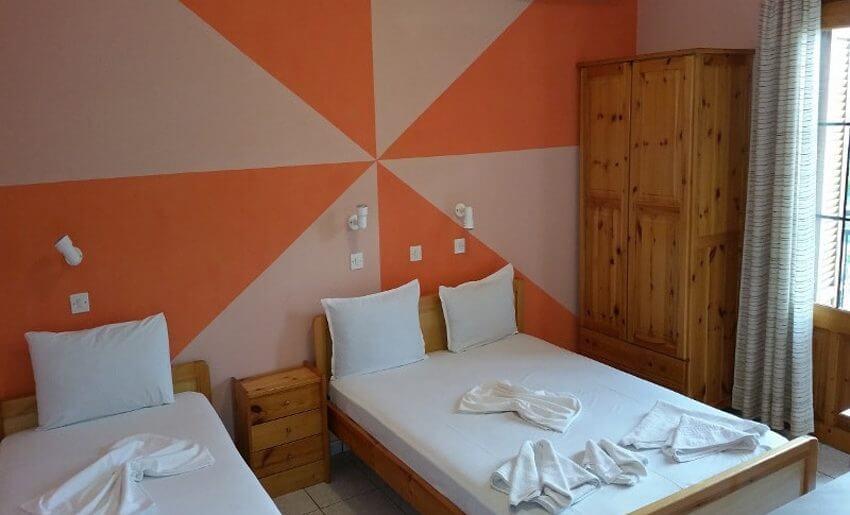 Eirini Vila Tasos grcka apartmani letovanje trokrevetna soba