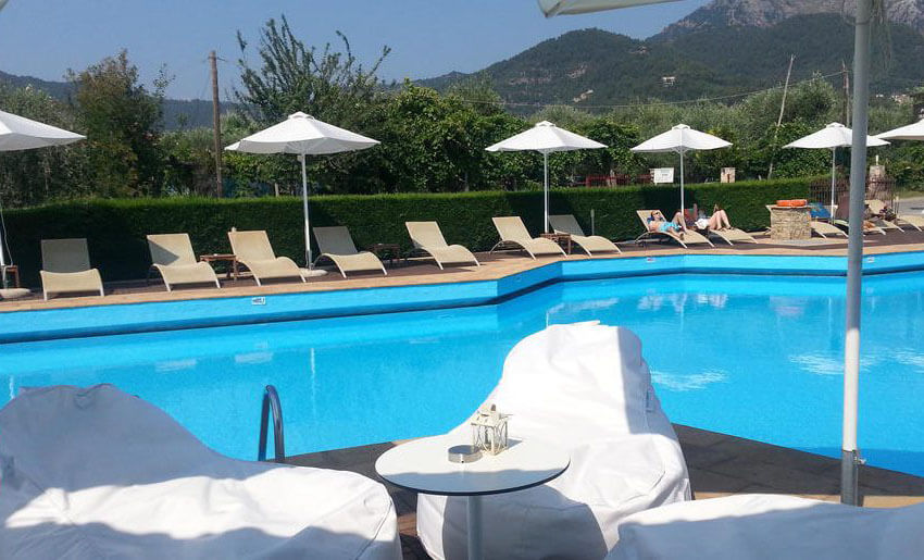 Hotel Korina tasos grcka apartmani leto