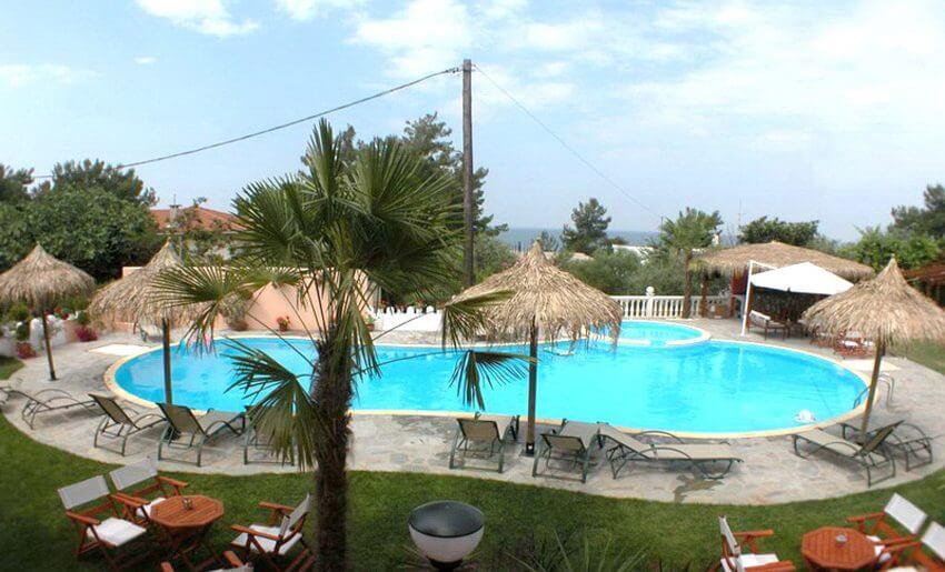 Irini Vila Tasos tasos grcka letovanje bazeni