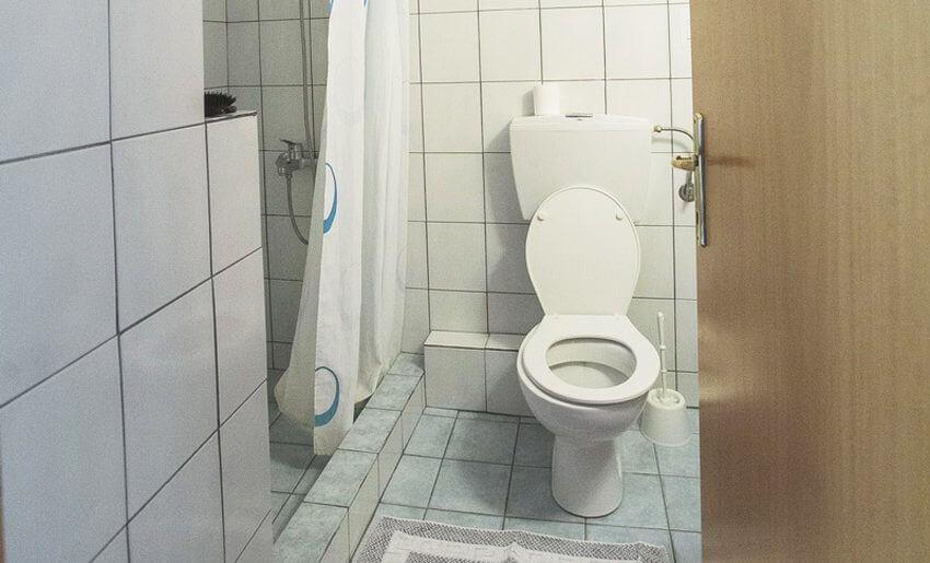 Irini Vila Tasos tasos grcka letovanje kupatilo