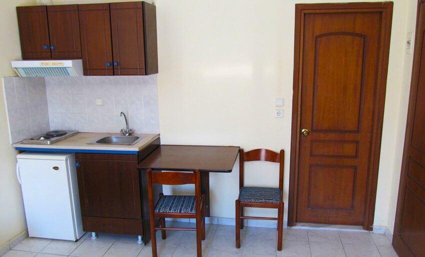 Koukoudis Vila Tasos Grcka apartmani letovanje kuhinja
