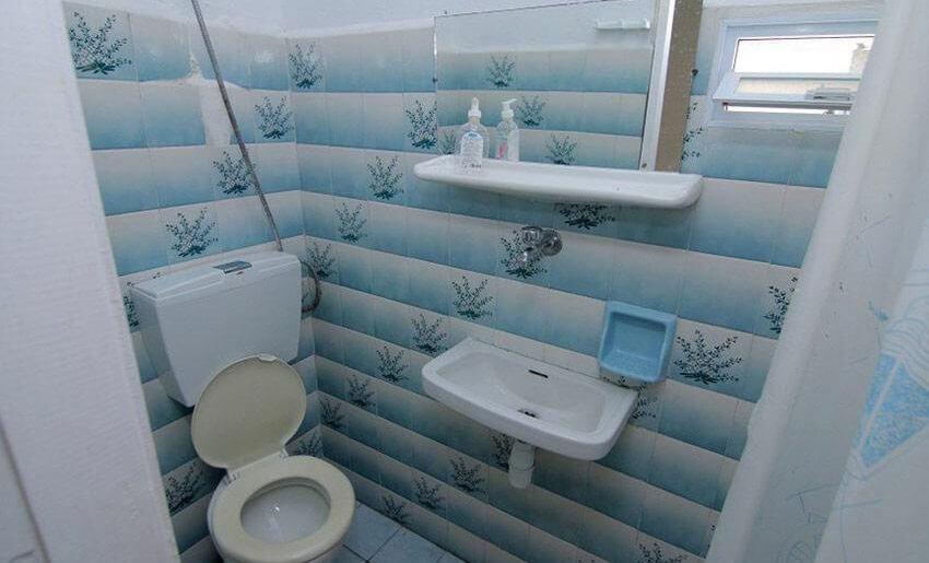 Koula Vila Tasos Grcka apartmani kupatilo
