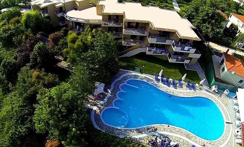 Makedon Hotel tasos smestaj grcka apartmani letovanje bazen